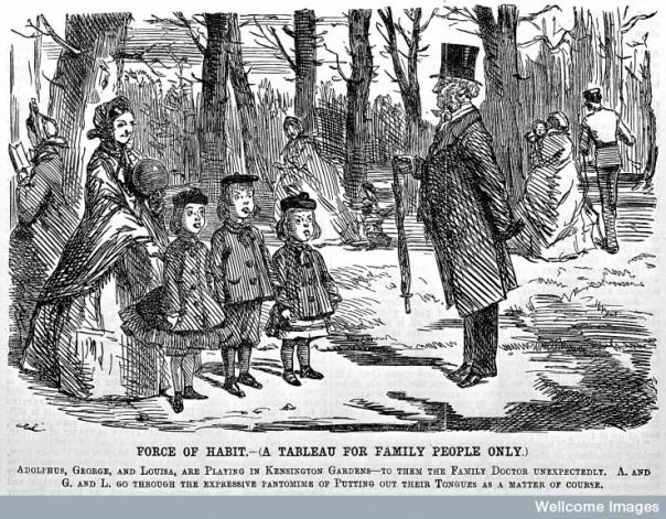 L0004864 Cartoon: the family Doctor.
