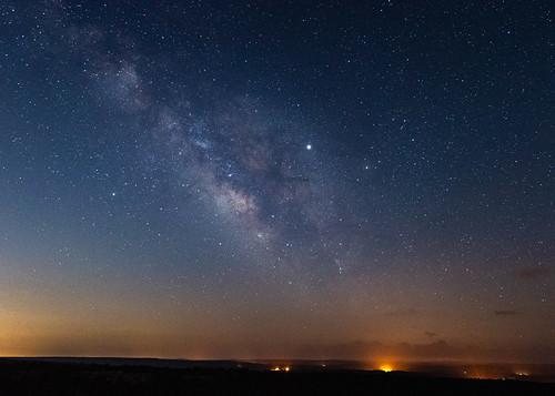 Milky Way over Petit Jean State Park, Arkansas. 2019.