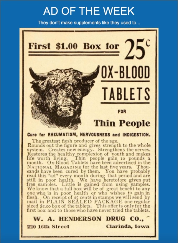 Ox Blood Tablets